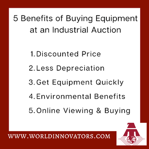 5 Benefits for Buying in Auction