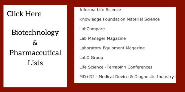 Biotechnology_Pharmaceutical_Marketing_Lists